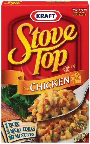 Stove Top Stuffing Mix, Chicken, 6 oz (Pack of 12)
