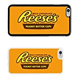 Chocolate Wrappers cover case for Apple iPhone 6 & Plus - White - T775 - Reese's Peanut Butter - White