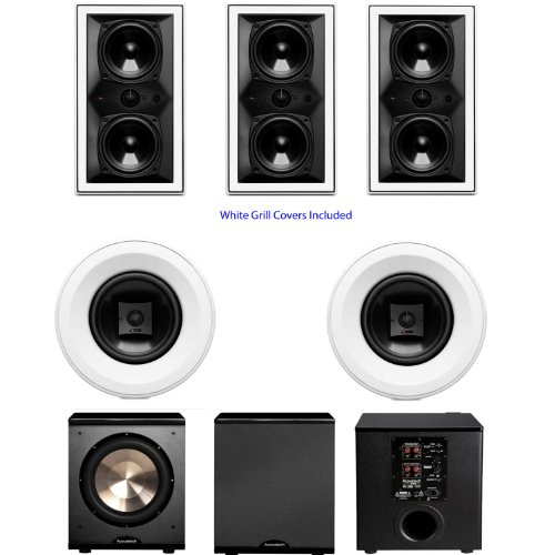 Boston Acoustics Hsi 455W2 5.1 Home Theater System-Pl-200