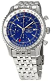 51nmtDblYsL. SL160  Breitling Mens BTA2432212 C561SS Navitimer World Chronograph Watch