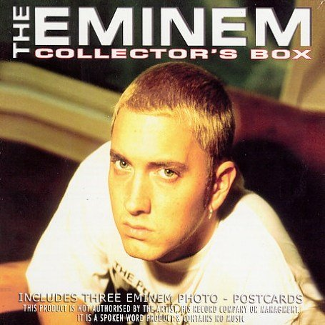 International Singles by Eminem album cover