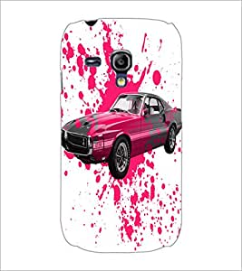 PrintDhaba Car D-2824 Back Case Cover for SAMSUNG GALAXY S3 MINI (Multi-Coloured)