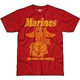 Battlespace Men's T Shirt USMC 'Retro'