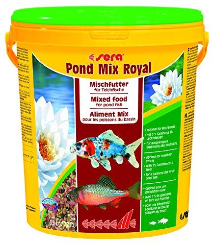 Sera pond mix royal 20 l preisvergleich fischfutter for Teichfische futter