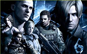 """Game poster Resident Evil 6 high-quality posters prints (15"""" * 24"""")"""