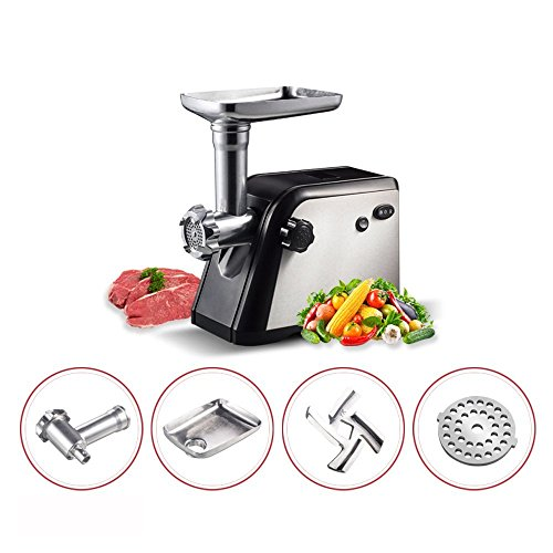 Homeleader Electric Meat grinder with 3 cutting plates (Homeleader Electric Meat Grinder compare prices)