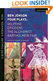Ben Jonson: Four Plays (New Mermaids)