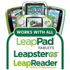 Get fun new educational content for all LeapPad, LeapsterGS/Explorer and LeapReader systems.