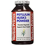Yerba Prima, Psyllium Husks Powder, 12 Oz (340 G)