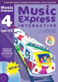Music Express Interactive - 4: Site License: Ages 8-9 (0713685891) by Hanke, Maureen