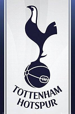 Tottenham Hotspur   Official Crest Poster