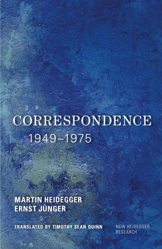 NEW Correspondence 1949-1975 (New Heidegger Research) by Martin Heidegger