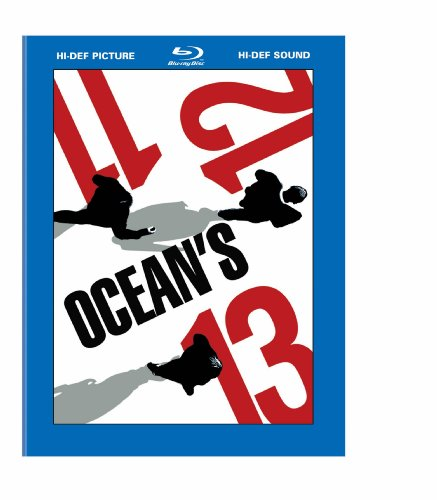 Cover art for  Ocean's Trilogy (Ocean's Eleven / Ocean's Twelve / Ocean's Thirteen) [Blu-ray]