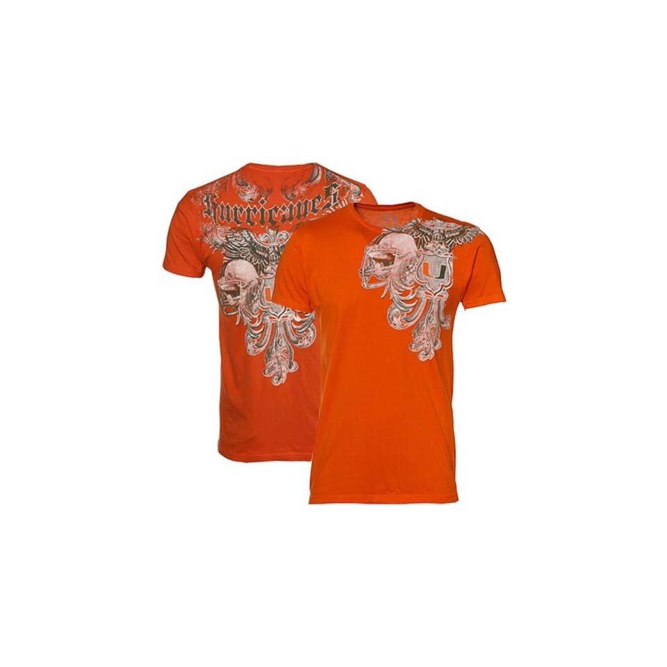 NCAA My U Miami Hurricanes Orange Approved T shirt