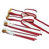 GOLD SHACHI 紅白ペナント(特小) 長さ25cm 10本セット