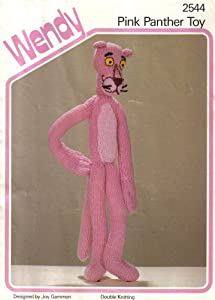 Wendy Knitting Pattern 2544 : Pink Panther Toy: Amazon.co.uk: Joy