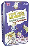Five Little Monkeys Jumping on the Bed Game Travel Tin