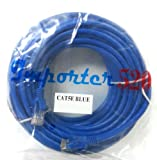 Importer520 BLUE 100FT CAT5 RJ45 PATCH ETHERNET NETWORK CABLE 100 For PC, Mac, Laptop, PS2, PS3, XBox, and XBox 360 to hook up on high speed internet from DSL or Cable internet.