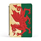 World Flag - Wales Premium Faux PU Leather Case, Protective Hard Cover Flip Case for Apple® iPad Mini by Gadget Glamour + FREE Crystal Clear Screen Protector