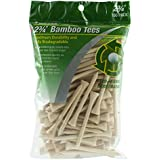 "JEF World Of Golf 717 2-3/4"" Bamboo Golf Tees (100 Pack), Natural"