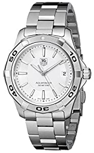 TAG Heuer Men's WAP1111.BA0831 Aquaracer Silver Dial Watch