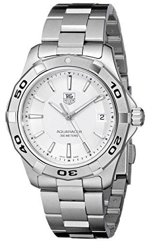 TAG Heuer Men's WAP1111.BA0831 Aquaracer Silver Dial Watch image