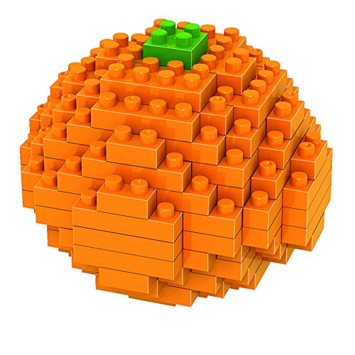LOZ mini Diamond blocks building set - Orange