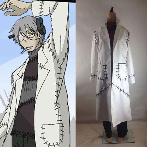 [Soul Eater Franken Stein Doctor Cosplay Costume-made By Jamcos by Jamcos] (Soul Eater Dr Stein Costume)