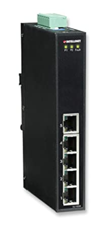 INTELLINET SWITCH HUB FAST ETHERNET INDUSTRIALE 5 PORTE TIPO SLIM