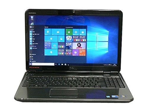 中古パソコン 中古ノートパソコン DELL Inspiron N5010 ブルー テンキー Windows10 Core i3 メモリ/4GB HDD/320GB DVD Kingsoft Office付