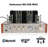 【TYSJ】Nobsound® MS-10D MKII パワーアンプ/ヘッドフォンアンプ ステレオ / プリアンプ / 真空管アンプ Bluetooth/USB/Headphone対応