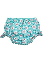 I Play Unisex Baby Swim Diaper Cover - Daisies