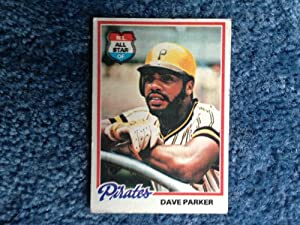 Amazon.com: 1978 Topps Baseball Dave Parker card # 560