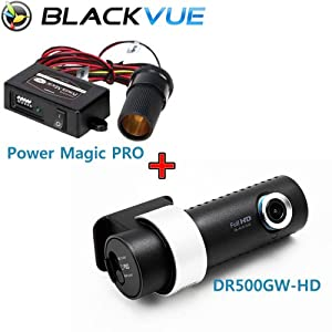 Blackvue DR500GW16G-PMP Wi-Fi Car DVR Black Box Camera Recorder with Power Magic Pro