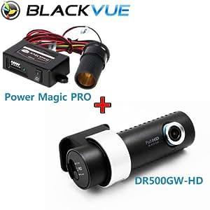 Blackvue DR500GW16G-PMP Wi-Fi Car DVR Black Box Camera Recorder with Power Magic Pro