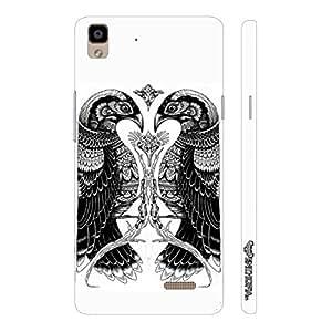 Oppo R7 Lite Egyptian Birds designer mobile hard shell case by Enthopia