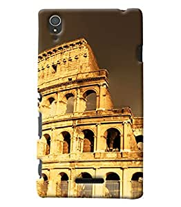 Clarks Printed Designer Back Cover For Sony Xperia T3