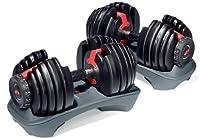 Bowflex SelectTech 552 Adjustable Dumbbells (Pair) by Bowflex