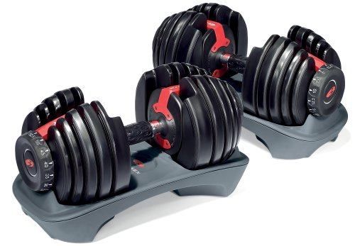 51nnMxox1bL My Favorite Dumbbells: Bowflex SelectTech 552 Adjustable Dumbbells