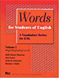 img - for Words for Students of English : A Vocabulary Series for ESL, Vol 2 (Pitt Series in English As a Second Language) book / textbook / text book