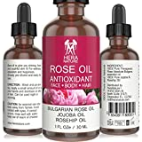Rose Absolute Bulgarian Essential Oil , 100% Pure, Therapeutic Grade with Jojoba & Rosehip Oil - 30ml (1oz)