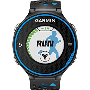 Garmin Forerunner 620 - Black Blue Bundle by Garmin