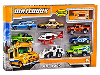 Matchbox 9-Car Gift Pack (Styles May Vary) from Matchbox