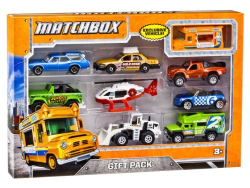 Matchbox 9-Car Gift Pack (Styles May