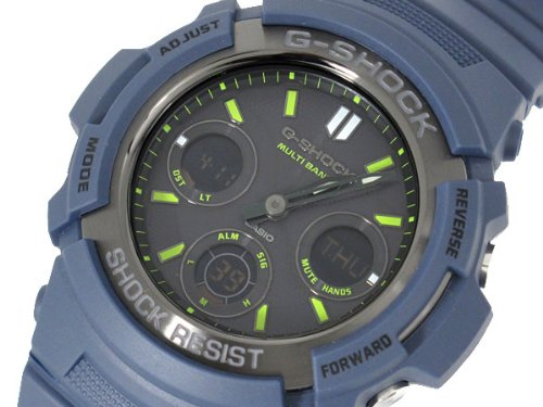 Casio CASIO G shock wave tough solar an analog-digital watch AWG-M 100NV-2 [parallel import goods]