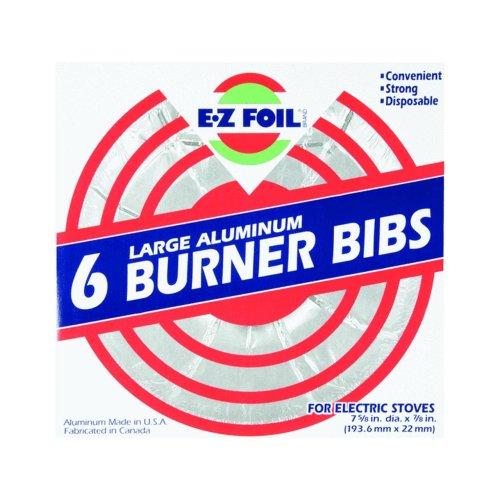 Hefty Ez Foil Large Aluminum 6 Burner Liners For Electric Stove front-380094