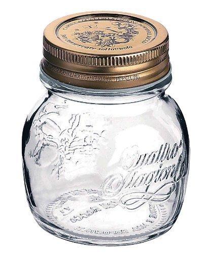 12STK. Bormioli Quattro Stagioni 0,15litro, barattolo in vetro per conserve di Bormioli