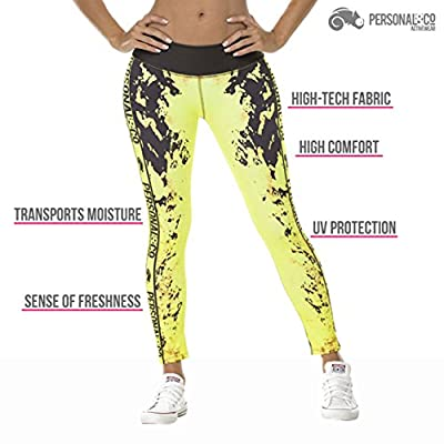 Gym Workout Tights by Personal&Co-Yoga & Running Pants For Women-Active Leggings