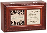 Granddaughter You are The Joy Of My Heart Music Musical Jewelry Box Plays Amazing Grace