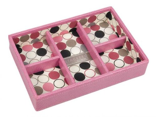 Pink Mini Stackers 5 Compartment tray